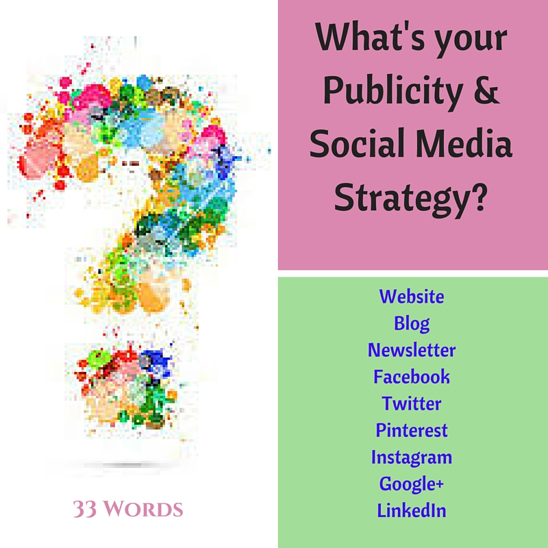 Publicity and Social Media Strategy
